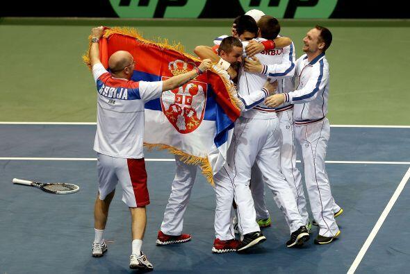 En la Copa Davis, Djokovic es una pieza clave, ante Estados Unidos, Serb...