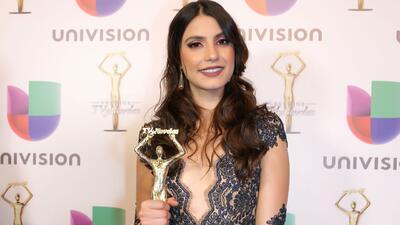 Bárbara López es la 'Actriz Revelación' de los 'Premios TvyNovelas 2017'
