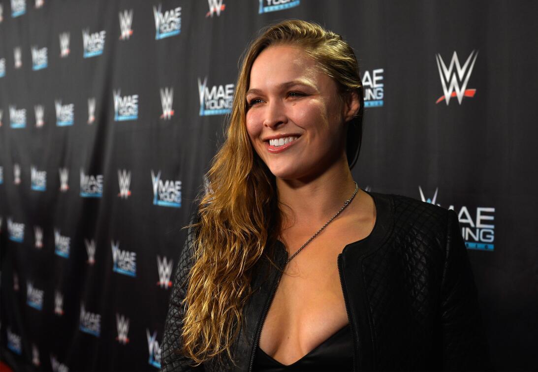 Ronda Rousey - La campeona de la UFC –artes marciales mixtas– fue anunci...