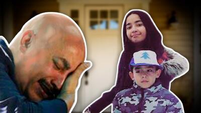 Lupillo Rivera llora como un niño con la sorpresa que le dejaron sus hijos en la puerta de su casa
