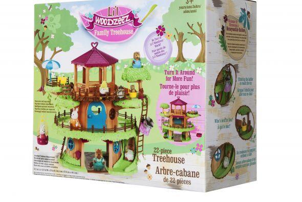 La casa del árbol de Li'l  WoodZeez es un atractivo regalo para l...