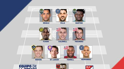 Equipo de la Semana 15 de la MLS