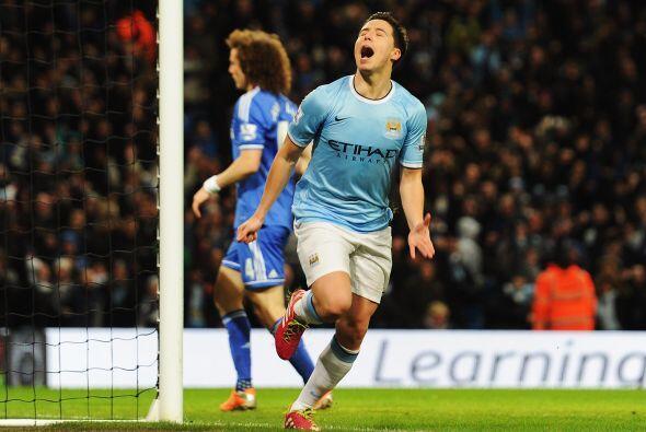 Y llegó el gol de Nasri en la segunda parte.