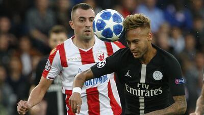 Cómo ver Estrella Roja vs. PSG en vivo, Champions League