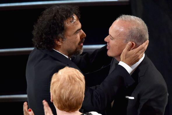 Iñárritu y Keaton, parte del 'dream team'.