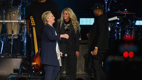 Jay Z y Beyonce encabezan evento de Hillary Clinton en Cleveland