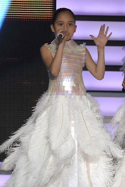 Por ejemplo, este impresionante vestido que usó Kenia y que además fue i...