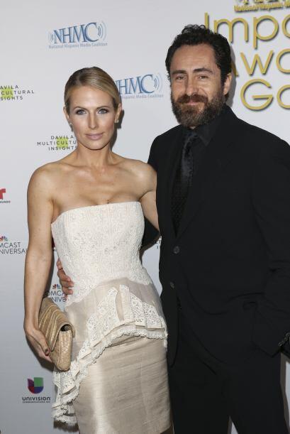 El nominado al Oscar asistió con su inseparable novia, Stephanie Sherk....