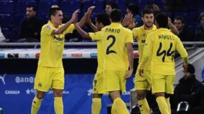Perbet anotó el gol del triunfo del Villarreal.