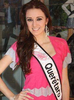 Querétaro está representado este 2009 por Alejandra Cabral de 19 años.