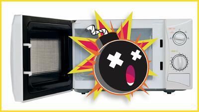 'Microwave Challenge': el peligroso reto de hacer explotar el microondas