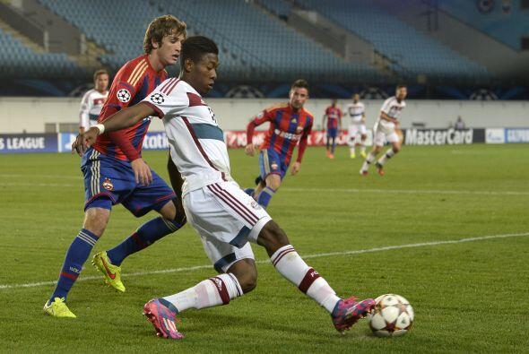 Bayern Múnich venció 1-0 al CSKA gracias a un penal de Müller. Gracias a...
