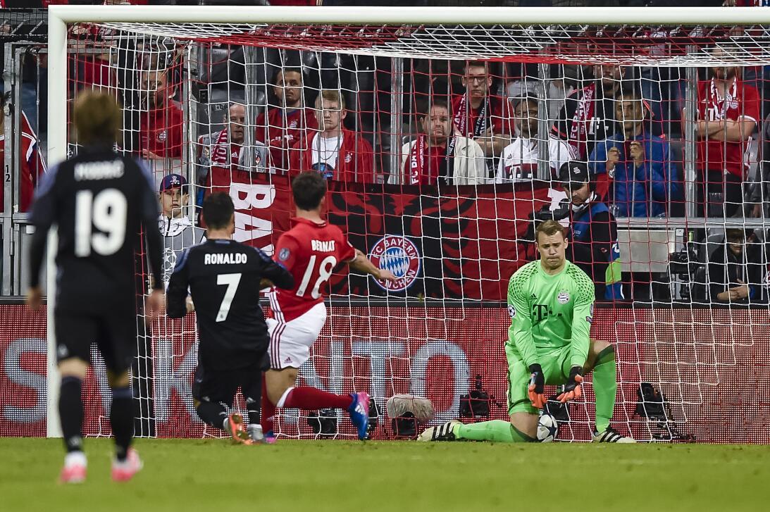 Con 103 goles en Champions, CR7 superó los 100 del Atlético en toda su h...