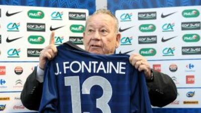 Just Fontaine es recordado por marcar 13 en la Copa del Mundo de Suecia...
