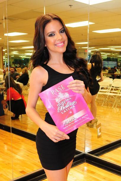 Adamaris Cordero Valentín de Puerto Rico, audicionó en Puerto Rico. Ella...