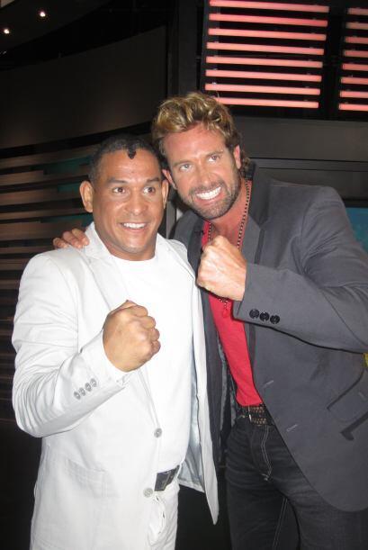 El ex campeón comparte con Gabriel Soto, otro de los invitados de...