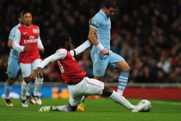 Otro gran partido que tuvo esta ronda de Cuartos de Final fue el Arsenal...