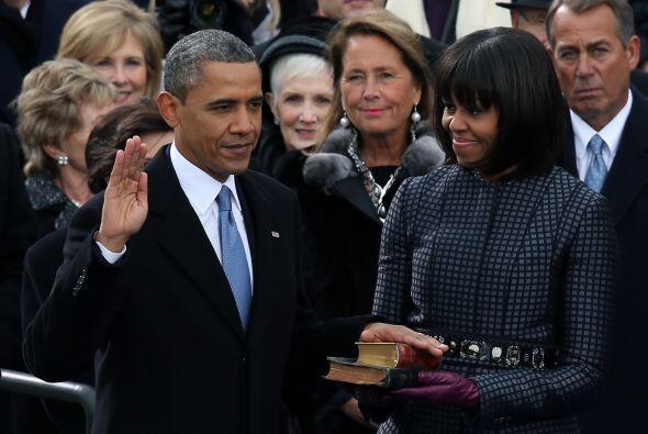 20 de enero. Obama toma posesión e inicia su 2do. mandato. En su discurs...
