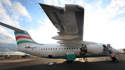 Este fue el avión de la empresa de vuelos chárter LaMia de Bolivia que s...