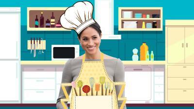 Meghan se metió hasta la cocina (literalmente): te decimos para qué