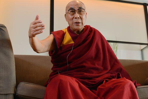 El líder espiritual tibetano, el Dalái Lama, felicit&oacut...