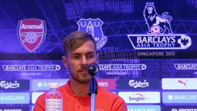 El mediocampista galés reconoce que le encantaría jugar en España.