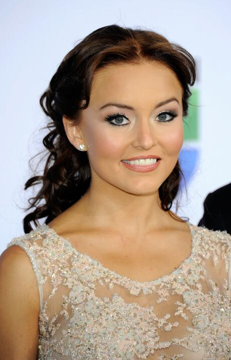 Actress Angelique Boyer arrives at the 12th annual Latin GRAMMY Awards a...