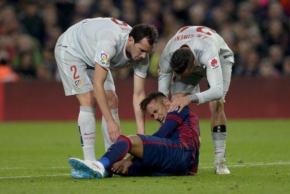 Con el gol, el Atlético intentó proponer el partido, lo que ocasionó que...