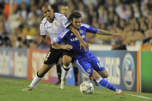 En Mestalla, el Valencia enfrentó al Chelsea que llegaba con la vuelta d...