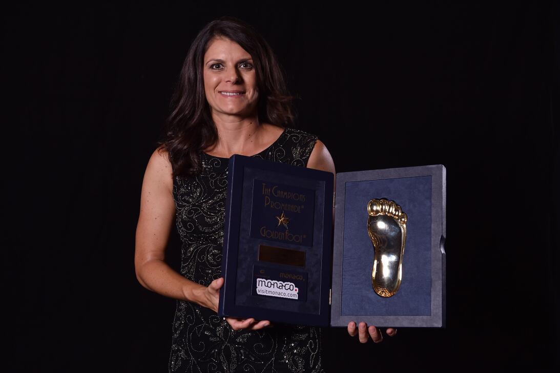 Los 45 años de Mia Hamm, 'la Pelé del fútbol femenino' GettyImages-45717...