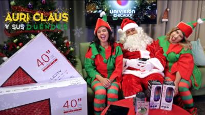 Promoción de Auri Claus y sus duendes