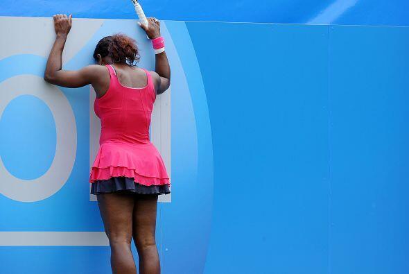 En el torneo de Eastbourne cayó Serena Williams, mientras que su...