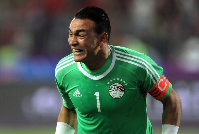 Egipto: el veterano Essam El Hadary votó por Cristiano Ronaldo y Zinedin...
