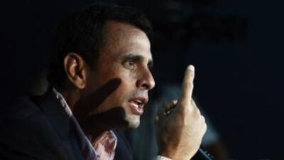 Capriles anticipó que recorrerá el país para organizar a la oposición.