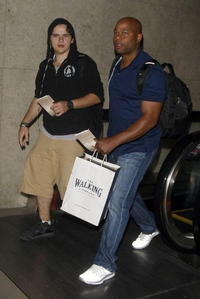 Prince Jackson, de 17 años, fue retratado en el aeropuerto de Los Angele...