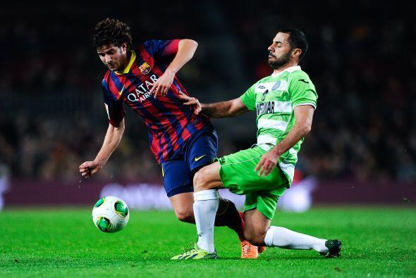 Barcelona hacía su aparición en los octavos de final de la Copa del Rey...