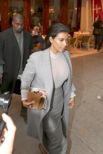 Kim se la ha pasado de evento en evento, al parecer su agenda está basta...