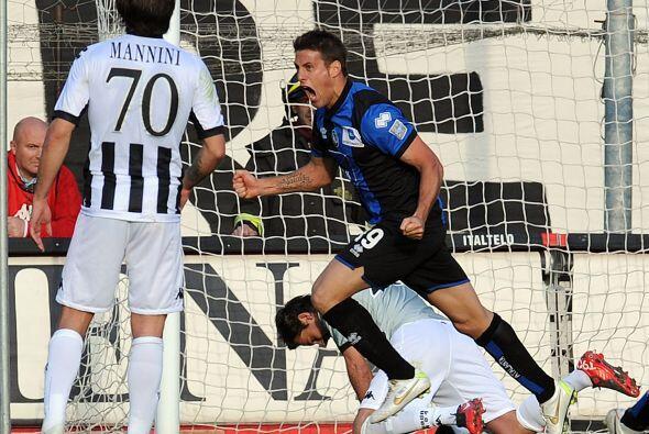 Germán realizó un partido redondo y consiguió un doblete en el empate de...