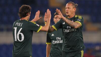 Milan derrotó  3-1 a la Lazio