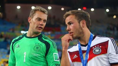 Alemania incluyó a Neuer y dejó fuera a Götze en la lista provisional del Mundial