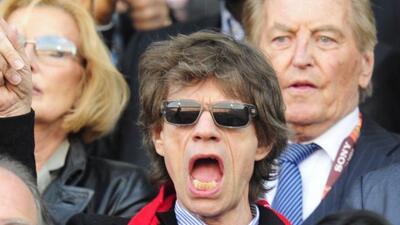 Mick Jagger dijo que Inglaterra vencería a su contrincante y pasó todo l...