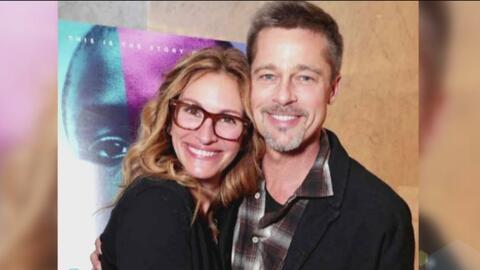 Brad Pitt reapareció luciendo más delgado, pero con buena cara junto con...