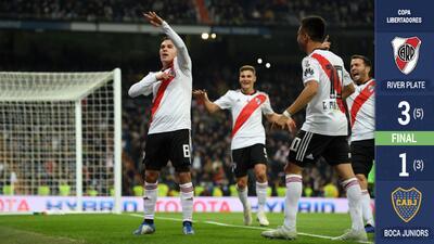 EN VIVO | ¡River Plate vence a Boca Juniors y es Campeón de la Copa Libertadores!