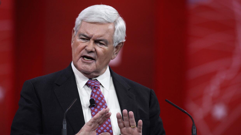 Senador Newt Gingrich, ¿volvería a la política activa?