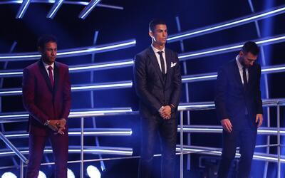 Cristiano superó a Messi y Neymar