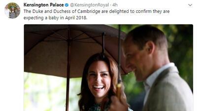 Bebé real en primavera: ya hay fecha para la llegada del hijo del príncipe William y Kate Middleton