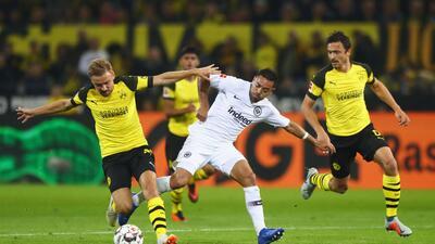 En fotos: la actuación de Marco Fabián en la derrota del Eintracht Frankfurt
