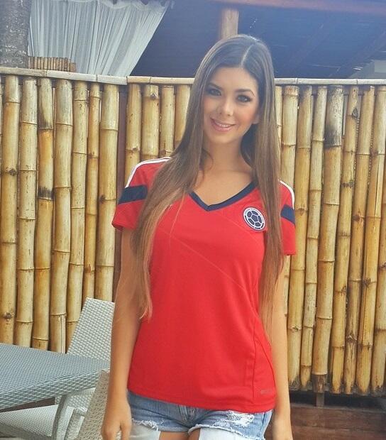 La espectacular modelo es la inspiración de la selección de Colombia, qu...