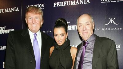 Fotos: así han sido los encuentros entre Kim Kardashian y Donald Trump