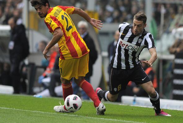 Otro equipo histórico, la Juventus, recibió al Lecce.